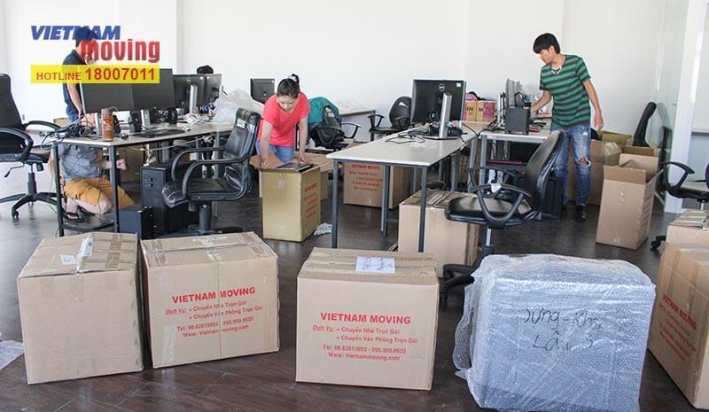 Dự án chuyển văn phòng công ty Truyền Thông Và Giải Trí Điền Quân 11