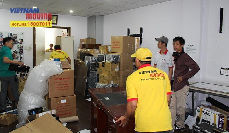 Dự án chuyển văn phòng công ty Truyền Thông Và Giải Trí Điền Quân 2