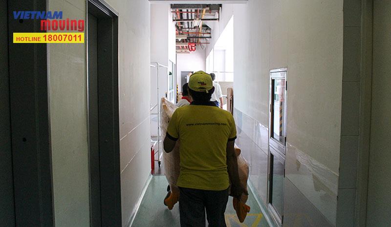 Dự án vận chuyển tại Bệnh viện FV 1
