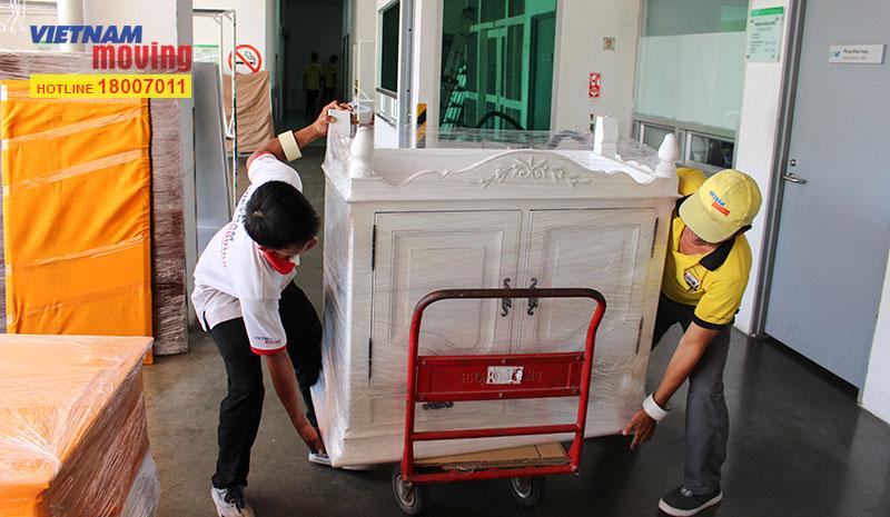 Dự án vận chuyển tại Bệnh viện FV 3