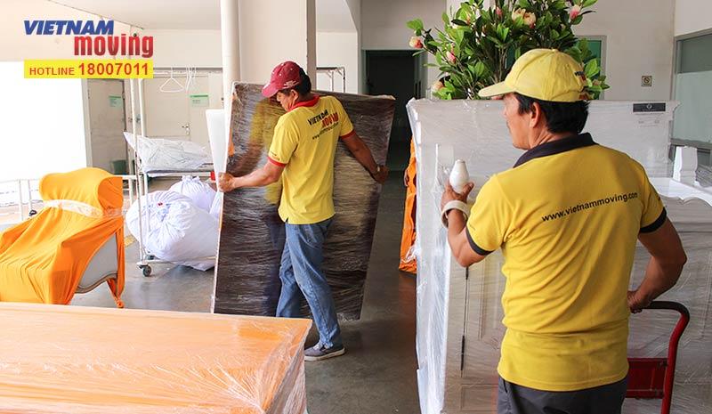 Dự án vận chuyển tại Bệnh viện FV 4