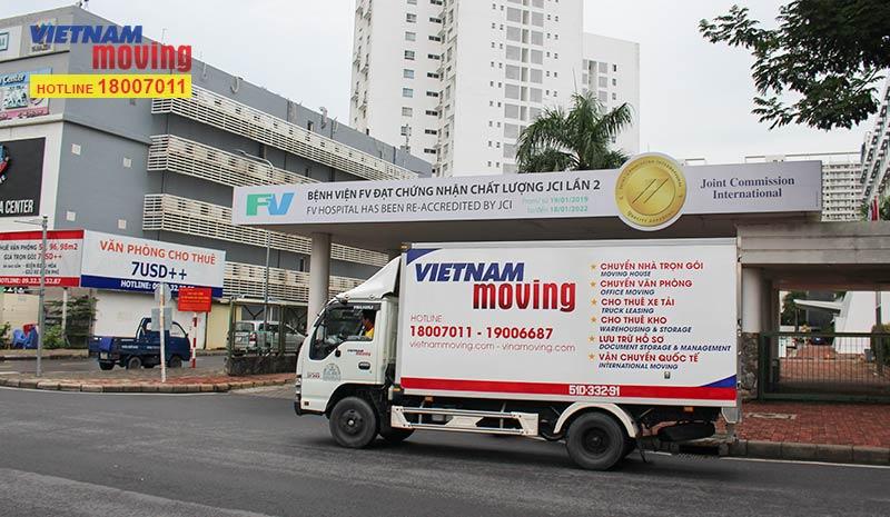 Dự án vận chuyển tại Bệnh viện FV Hospital