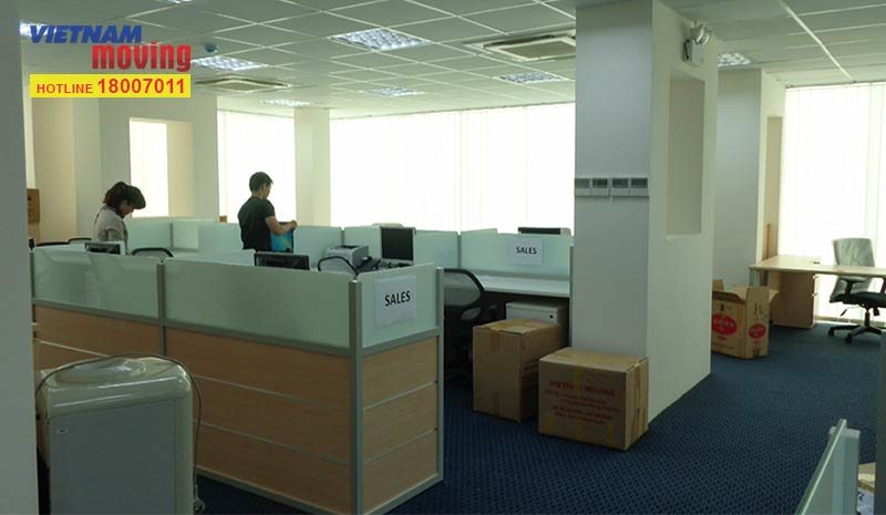 Dự án chuyển văn phòng ITL Corporation 1