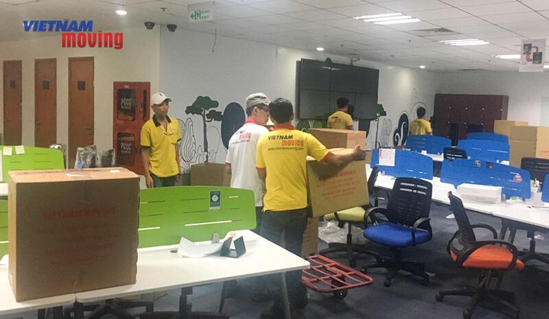 Dự án chuyển văn phòng công ty Lazada Việt Nam 10