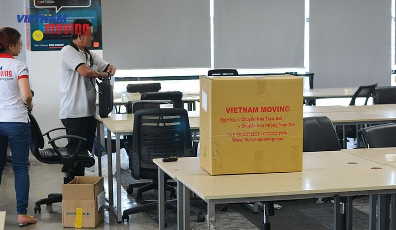 Dự án chuyển văn phòng công ty Lazada Việt Nam 11