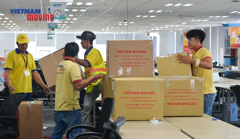Dự án chuyển văn phòng công ty Lazada Việt Nam 3