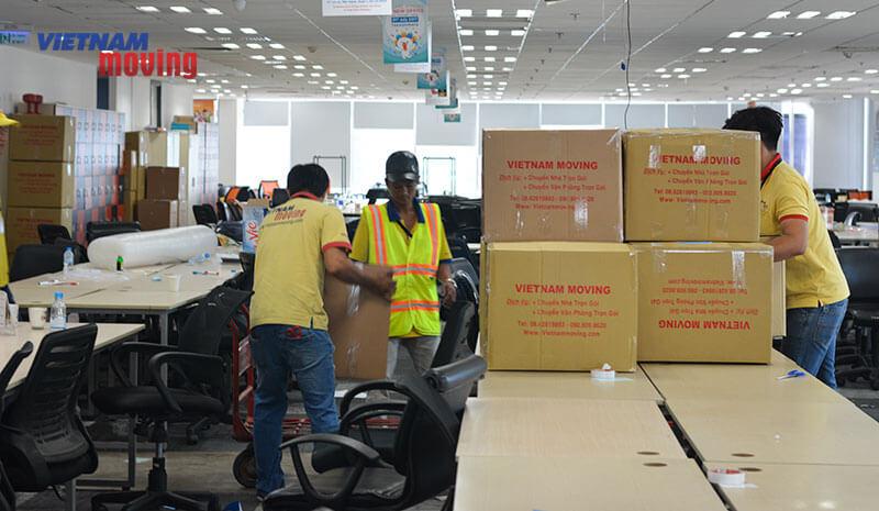 Dự án chuyển văn phòng công ty Lazada Việt Nam 4