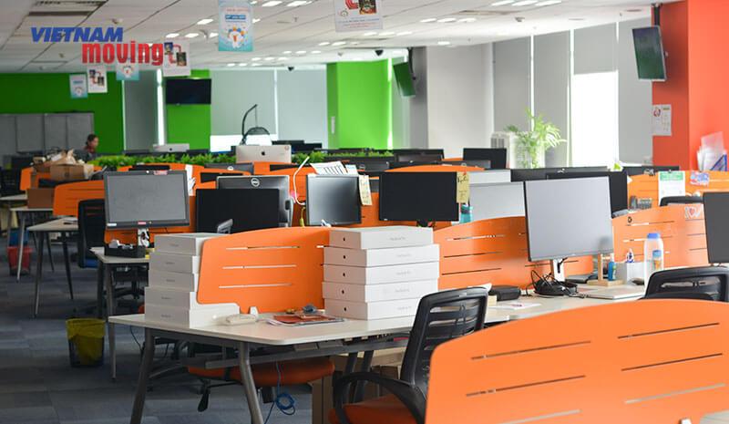 Dự án chuyển văn phòng công ty Lazada Việt Nam 8