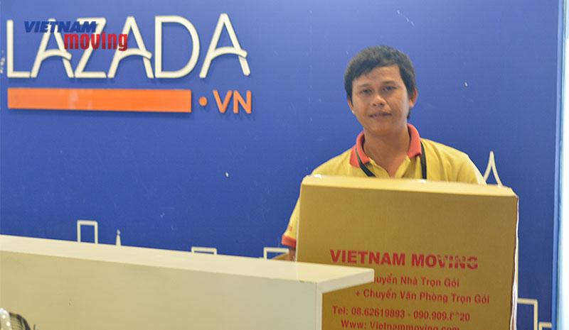 Dự án chuyển văn phòng công ty Lazada Việt Nam