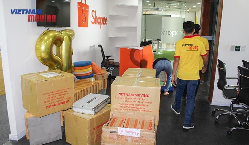 Dự án chuyển văn phòng công ty shopee Việt Nam 10