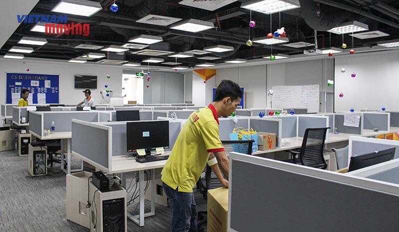 Dự án chuyển văn phòng công ty shopee Việt Nam 12