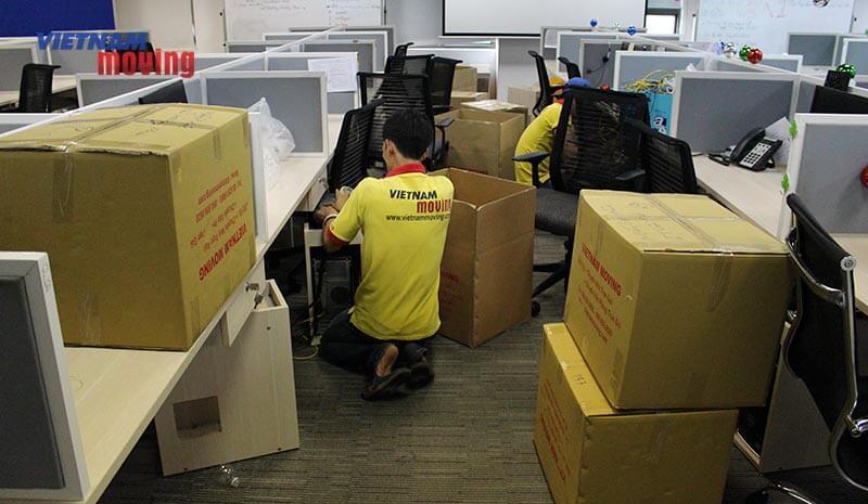Dự án chuyển văn phòng công ty shopee Việt Nam 13