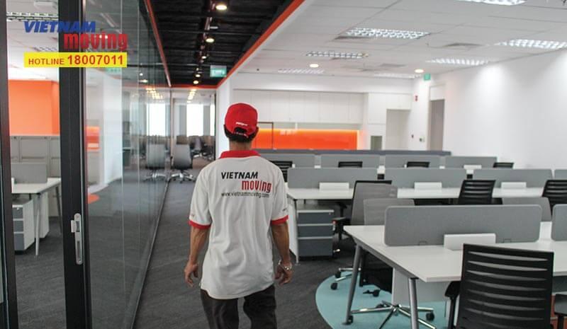 Dự án chuyển văn phòng công ty shopee Việt Nam 14