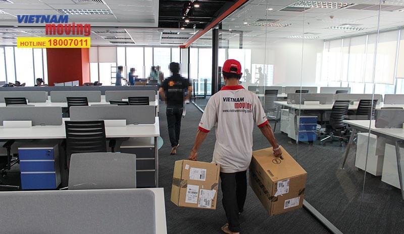 Dự án chuyển văn phòng công ty shopee Việt Nam 15