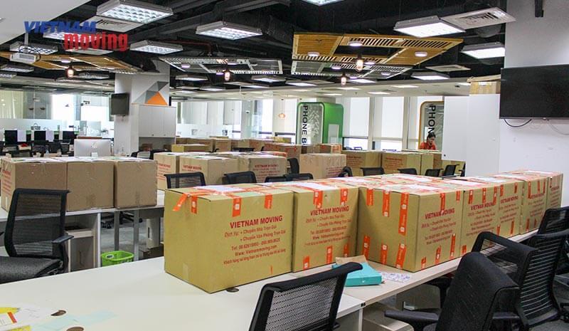 Dự án chuyển văn phòng công ty shopee Việt Nam 2