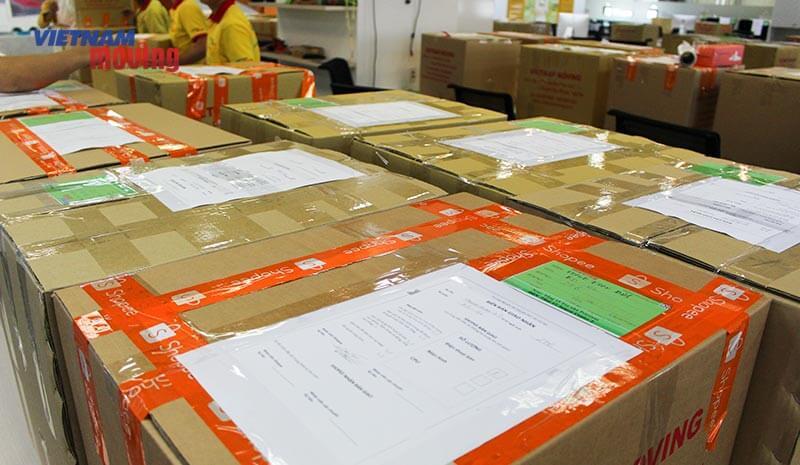 Dự án chuyển văn phòng công ty shopee Việt Nam 3