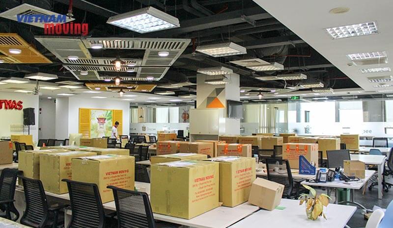 Dự án chuyển văn phòng công ty shopee Việt Nam 4