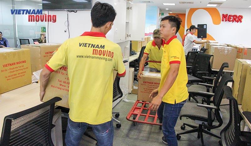 Dự án chuyển văn phòng công ty shopee Việt Nam 5