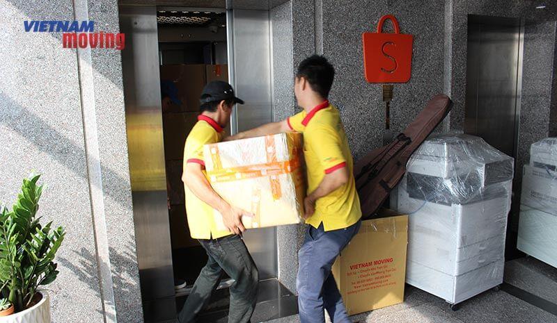 Dự án chuyển văn phòng công ty shopee Việt Nam 8