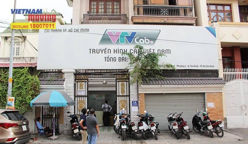 Dự án chuyển văn phòng công ty Truyền hình cáp Việt Nam VTV Cab 11