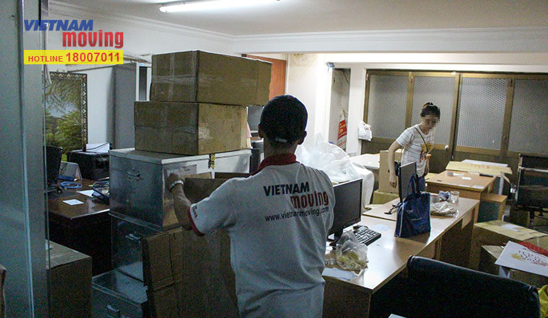 Dự án chuyển văn phòng công ty Truyền hình cáp Việt Nam VTV Cab 2