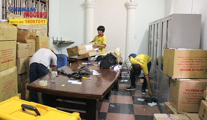 Dự án chuyển văn phòng công ty Truyền hình cáp Việt Nam VTV Cab 5
