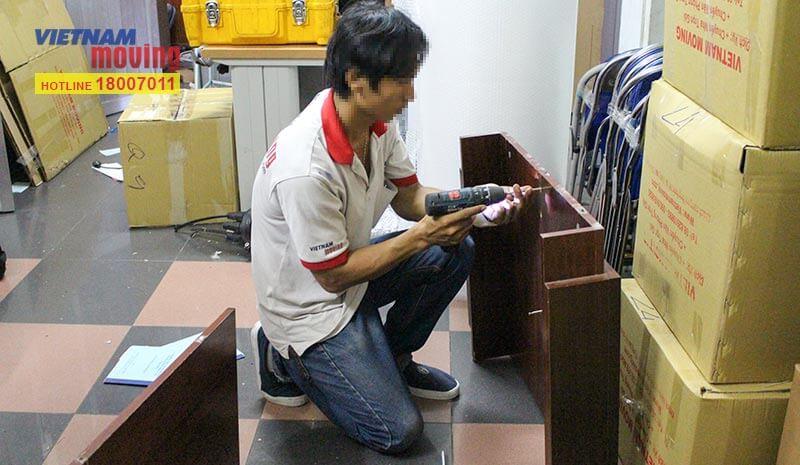 Dự án chuyển văn phòng công ty Truyền hình cáp Việt Nam VTV Cab 6