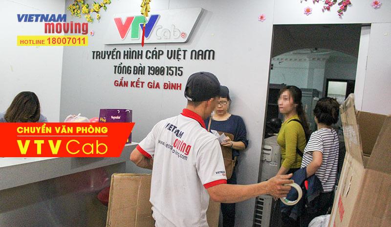 Dự án chuyển văn phòng công ty Truyền hình cáp Việt Nam VTV Cab