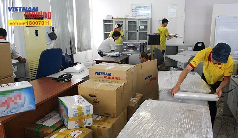 Dự án chuyển văn phòng công ty Yakult Việt Nam 10