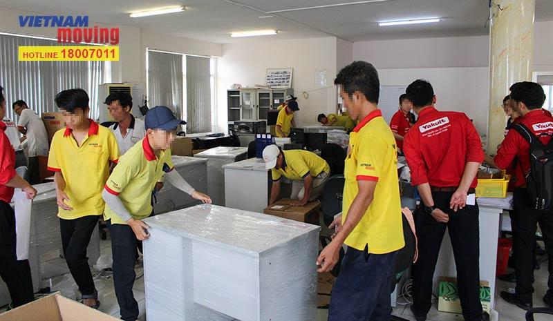 Dự án chuyển văn phòng công ty Yakult Việt Nam 11