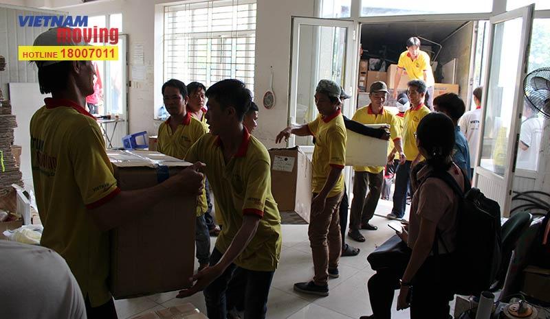 Dự án chuyển văn phòng công ty Yakult Việt Nam 13