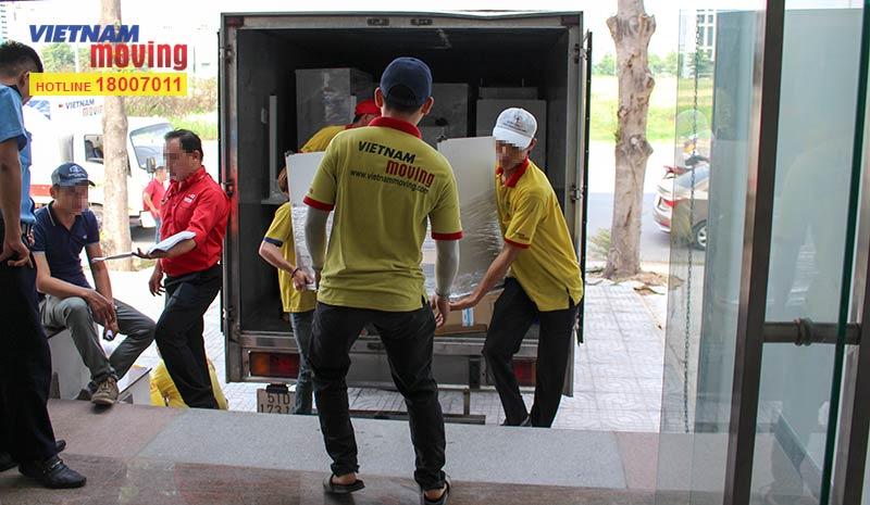 Dự án chuyển văn phòng công ty Yakult Việt Nam 16
