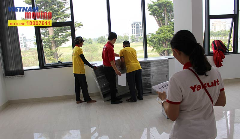 Dự án chuyển văn phòng công ty Yakult Việt Nam 17