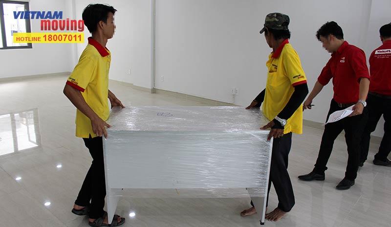Dự án chuyển văn phòng công ty Yakult Việt Nam 19