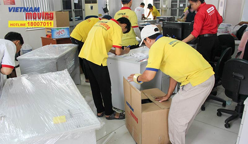 Dự án chuyển văn phòng công ty Yakult Việt Nam 4
