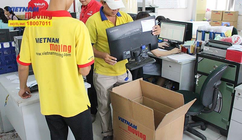 Dự án chuyển văn phòng công ty Yakult Việt Nam 9