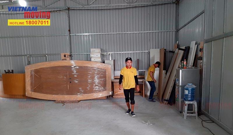 Dự án chuyển hàng ở Kho xưởng Chú Tư ngày 24/10/2019 2