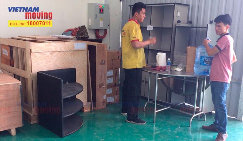 Dự án chuyển hàng ở Kho xưởng Công Ty TNHH Trúc Xuân 1