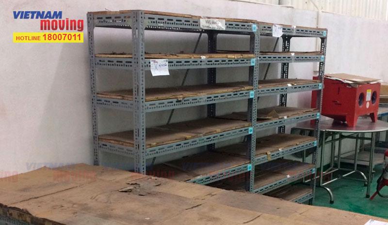 Dự án chuyển hàng ở Kho xưởng Công Ty TNHH Trúc Xuân 11