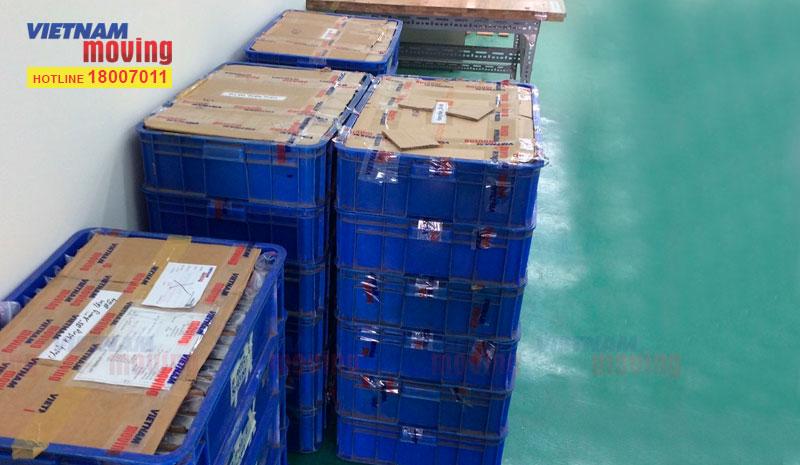 Dự án chuyển hàng ở Kho xưởng Công Ty TNHH Trúc Xuân 2