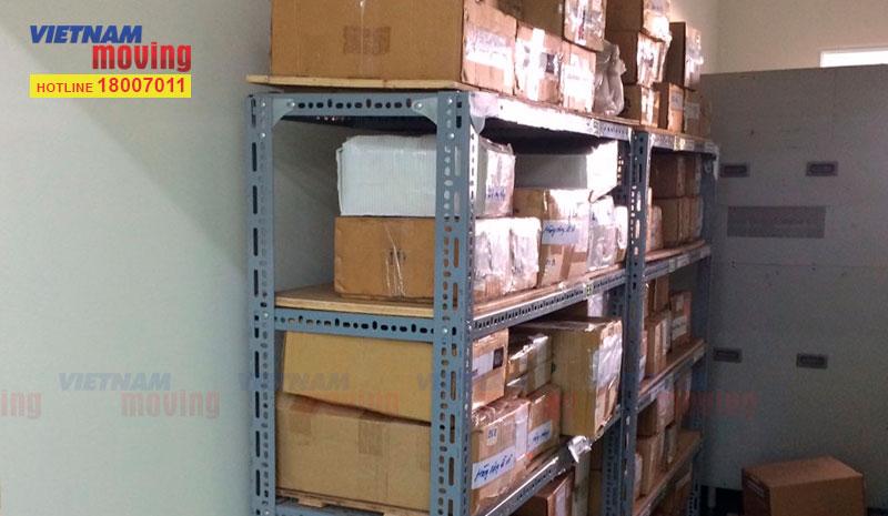 Dự án chuyển hàng ở Kho xưởng Công Ty TNHH Trúc Xuân 6