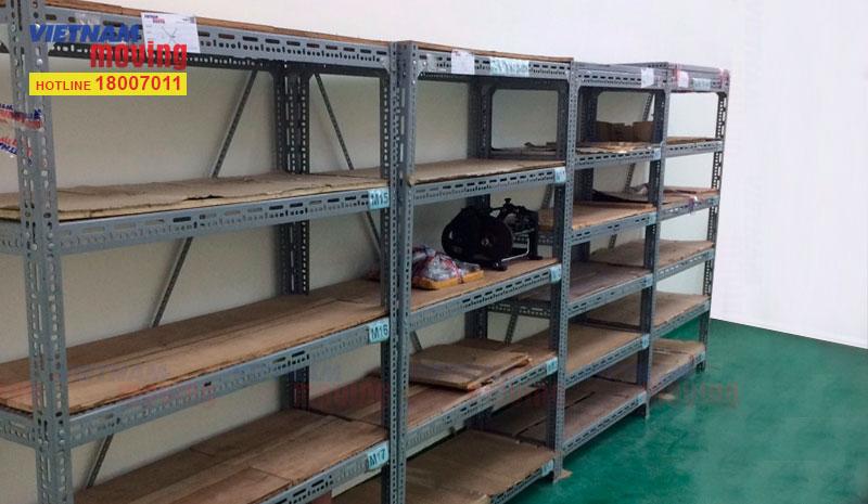 Dự án chuyển hàng ở Kho xưởng Công Ty TNHH Trúc Xuân 7