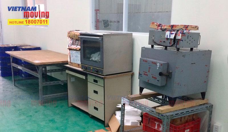 Dự án chuyển hàng ở Kho xưởng Công Ty TNHH Trúc Xuân 9