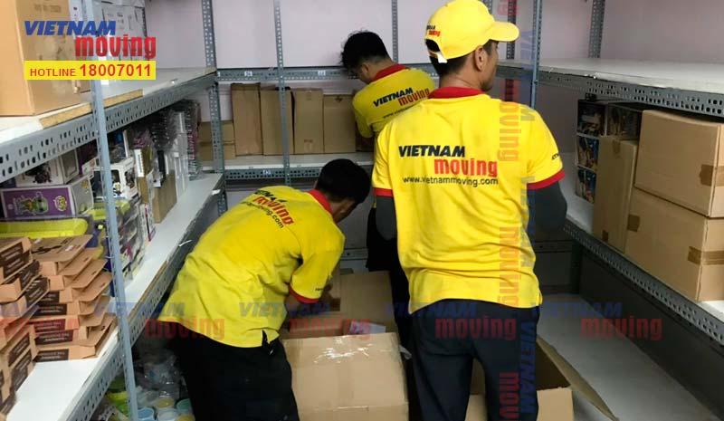 Dự án chuyển kho xưởng cho Chị Châu tại Quận Tân Bình 1