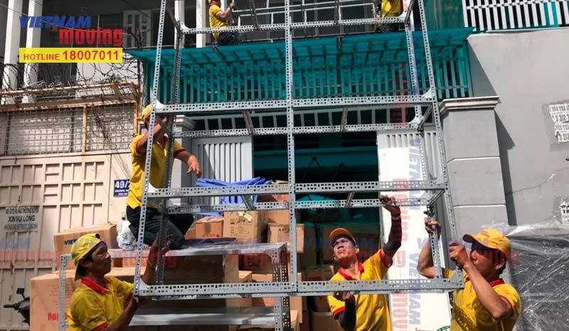 Dự án chuyển kho xưởng cho Chị Châu tại Quận Tân Bình 3