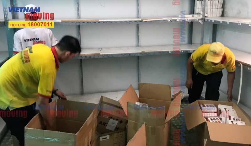 Dự án chuyển kho xưởng cho Chị Châu tại Quận Tân Bình 4