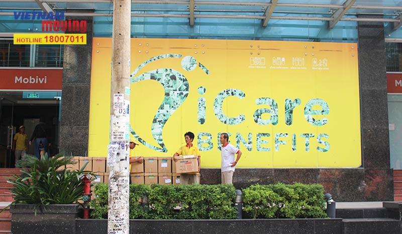 Dự án vận chuyển công ty iCare Benefits Việt Nam 1