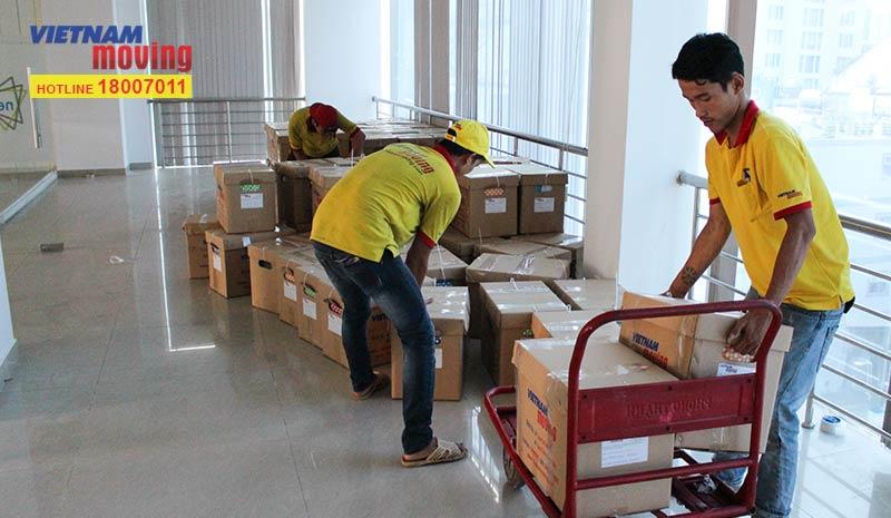 Dự án vận chuyển công ty iCare Benefits Việt Nam 3