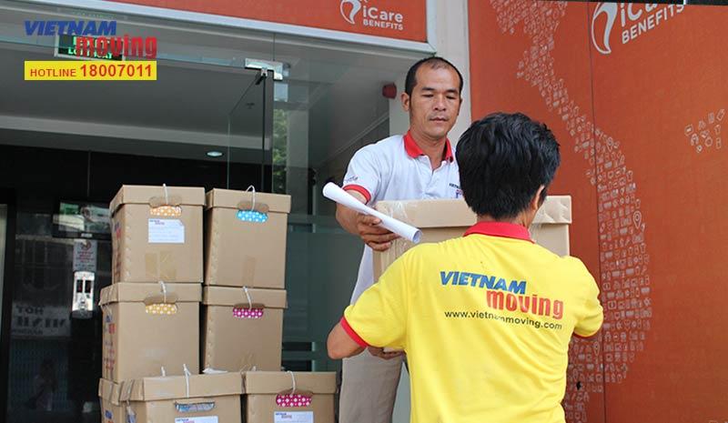 Dự án vận chuyển công ty iCare Benefits Việt Nam 6