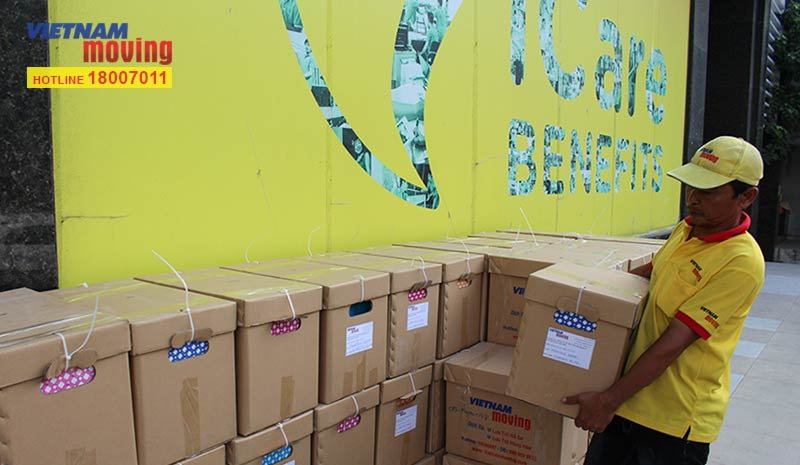 Dự án vận chuyển công ty iCare Benefits Việt Nam 7